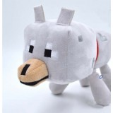 Wholesale - Minecraft MC Figures Plush Toy Stuffed Toy - Wolf 22cm/8.7inch
