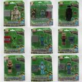 wholesale - MineCraft MC Block Mini Figure Toys Action Figures 9pcs Set