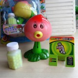 wholesale - Plants vs Zombies Figure Toy ABS Plastic Shooting Toy - Peach-pult