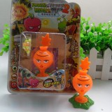 wholesale - Plants vs Zombies Figure Toy ABS Plastic Shooting Toy - Carrot