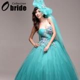 Wholesale - Ball Gown Strapless Floor-length Wedding Dress