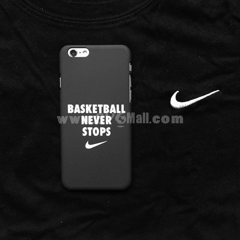 NIKE Element Stylish Frosted Lovers Phone Case for iPhone 5/5s, iPhone6/6s, iPhone 6/6s Plus