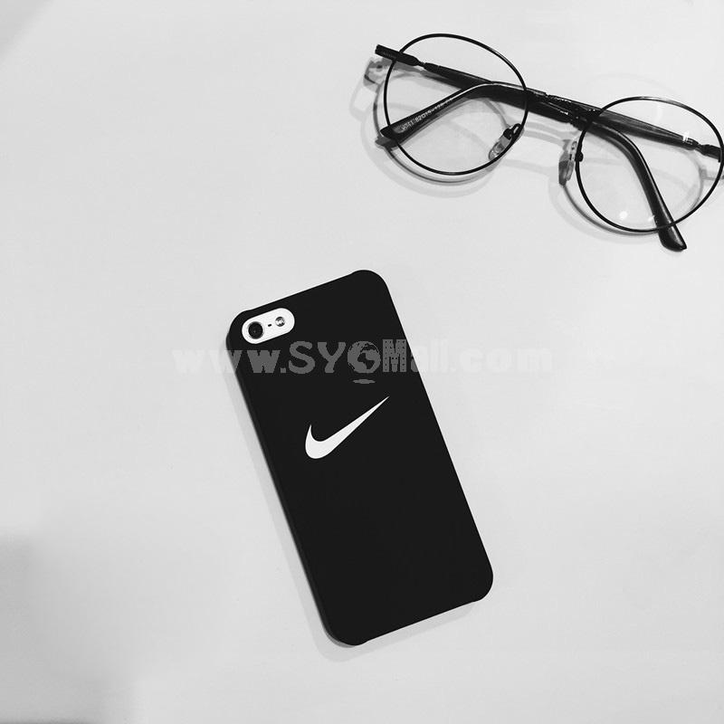 NIKE Element Classical Frosted Lovers Phone Case for iPhone 5/5s, iPhone6/6s, iPhone 6/6s Plus