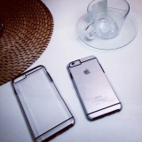 Wholesale - RABBITINS Simple Transparency Phone Case for iPhone 5/5s, iPhone6/6s, iPhone 6/6s Plus
