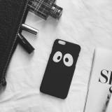 Wholesale - RABBITINS Cartoon Black White Eyes Phone Case for iPhone 5/5s, iPhone6/6s, iPhone 6/6s Plus