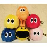 wholesale - Pixels Defense Pac Man Series Plush Toy 6pcs Set