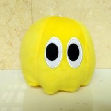 wholesale - Pixels Defense Pac Man Series Plush Toy Yellow Ghost 15cm/5.9inch