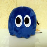 wholesale - Pixels Defense Pac Man Series Plush Toy Blue Ghost 15cm/5.9inch