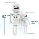 Wholesale - Minecraft MC Figures Plush Toy Stuffed Toy - Small Skeleton 24cm/9.5inch