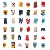 wholesale - 36Pcs Set MineCraft MC Block Mini Figure PVC Toys New Version 3cm/1.2inch
