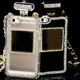wholesale - Luxury Perfume Bottle Rhinestone Cellphone Case Protective Cover for iPhone 5 / 5s / SE / 6 / 6s / 6 Plus / 6s Plus