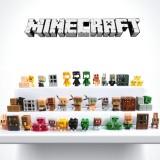 wholesale - 36Pcs Set MineCraft MC Block Mini Figure PVC Toys New Version 3rd Generation 3cm/1.2inch