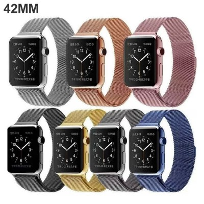 http://www.orientmoon.com/108626-thickbox/apple-watch-band-milanese-loop-stainless-steel-bracelet-smart-watch-strap-for-apple-watch-42mm-no-buckle-needed.jpg