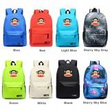 Wholesale - Paul Frank Pattern Backpacks Shoulder Rucksacks Schoolbags