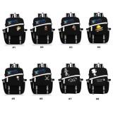 Wholesale - One Piece Backpacks Fashionable Black & White Shoulder Rucksacks Schoolbags