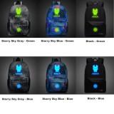 Wholesale - Iron Man Backpacks Luminous Fashionable Shoulder Rucksacks Schoolbags