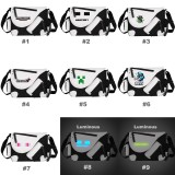 wholesale - MineCraft MC Pattern Leather Shoulder Bags Black & White Rucksacks Schoolbags
