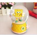 Wholesale - Cute Sponge Bob crystal ball with music