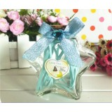 Wholesale - Small size star shape flash light wishing bottle