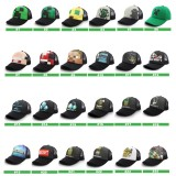 Wholesale - Minecraft Roles Premium Snap Back Hats Baseball Mesh Caps One Size Fits All