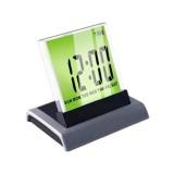 Wholesale - Desktop 7 Colors Changing Digital LED LCD Alarm Clock + Thermometer (HSD110B)