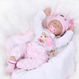 "Wholesale - 22"" High Simulation Baby Doll Lifelike Realistic Silicone Doll NPK-001"