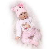 "Wholesale - 22"" High Simulation Baby Doll Lifelike Realistic Silicone Doll NPK-002"