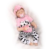 "Wholesale - 22"" High Simulation Girl Baby Doll Lifelike Realistic Silicone Doll NPK-003"