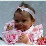 "Wholesale - 22"" High Simulation Baby Doll Lifelike Realistic Silicone Doll NPK-007"