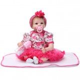 "Wholesale - 22"" High Simulation Baby Doll Lifelike Realistic Silicone Doll NPK-008"