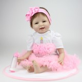 "Wholesale - 22"" High Simulation Baby Doll Lifelike Realistic Silicone Doll NPK-009"