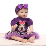 "Wholesale - 22"" High Simulation Baby Doll Lifelike Realistic Silicone Doll NPK-011"