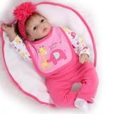 "Wholesale - 22"" High Simulation Baby Doll Lifelike Realistic Silicone Doll NPK-013"