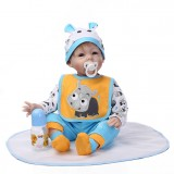 "Wholesale - 22"" High Simulation Baby Doll Lifelike Realistic Silicone Doll NPK-016"