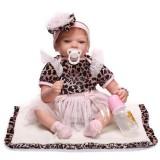 "Wholesale - 22"" High Simulation Girl Baby Doll Lifelike Realistic Silicone Doll NPK-020"