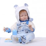 "Wholesale - 22"" High Simulation Baby Doll Lifelike Realistic Silicone Doll NPK-022"