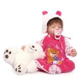 "Wholesale - 22"" High Simulation Baby Doll Lifelike Realistic Silicone Doll NPK-025"