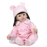 "Wholesale - 22"" High Simulation Girl Baby Doll Lifelike Realistic Silicone Doll NPK-029"