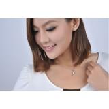 Wholesale - ZIBAONI Stylish 925 Sterling Heart Shape Pendant
