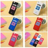 "Wholesale - Jordan NO.23 Pattern Hard Plastic iPhone 6/6s Cases 4.7"", iPhone 6/6s Plus Cases 5.5"""