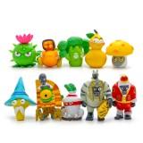 Wholesale - 10Pcs Set Plants vs Zombies 2 Toys Game Role Action Figures Display Toys PVC Decorations New 8th Version