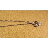 Wholesale - ZIBAONI Stylish 925 Sterling Silver Crown Necklace