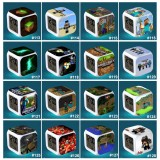 Wholesale - MineCraft MC Series Multifunctional Digital Alarm Clock with Colorful Light Night Light NO.113-NO.128