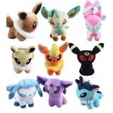 Wholesale - Pokémon Pokemon Plush Toys Stuffed Dolls Umbreon Sylveon Eevee Espeon 15cm/6Inch