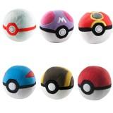 Wholesale - Pokémon Pokemon Pokeball Poké Ball Plush Toys Premier Master Repeat Ultra Great Ball Stuffed Dolls 12cm/5Inch