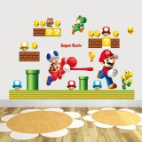 Wholesale - Super Mario 3D Wall Stickers Decorative Wall Decal 50x70cm