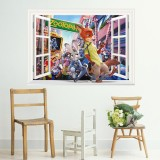 Wholesale - Zootopia 3D Wall Stickers Decorative Wall Decal 50x70cm