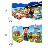 Wholesale - Paw Patrol 3D Wall Stickers Decorative Wall Decal 50x70cm
