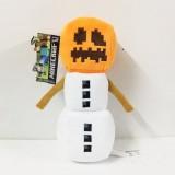 Wholesale - Minecraft Snow Golem Plush Toys Stuffed Dolls Small Size 18cm/7inch