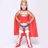 Wholesale - Halloween Costumes for Girls Superman Cosplay Costume Set EK091